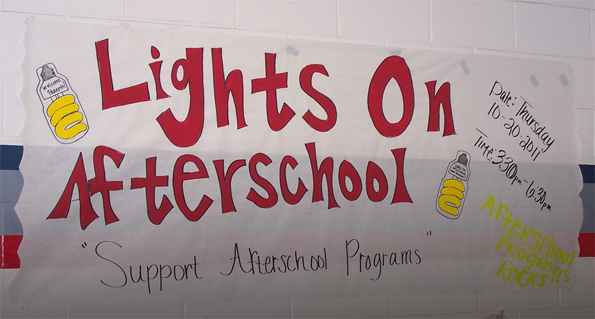 Show Your Support. Afterschool ...